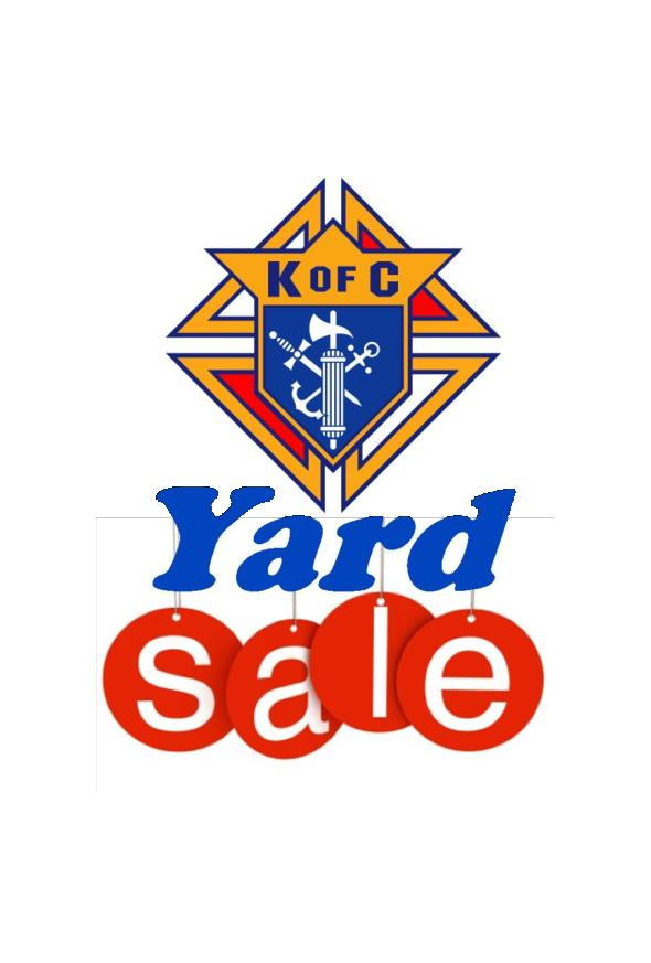 NEW DATES KoC Yard Sale